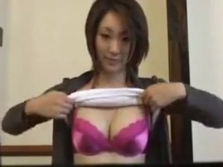 Asian girl dancing and lactating