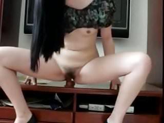 Chinese girl masturbation