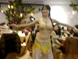 sexy asian Belly Dancer shake her slut boobs